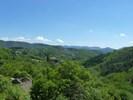 Montée : Col des Mourèzes depuis Le Vigan, Commentaire : L'un des nombreux hameaux formant la commune de Mandagout