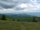 Montée : Mont Aigoual depuis Le Vigan (via le Col de la Lusette), Commentaire : En regardant vers le Nord depuis le Mont Aigoual