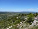 Montée : Mont Saint-Baudille depuis Arboras, Commentaire : Le tout début du Plateau du Larzac, auquel le Col du Vent donne accès