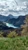 Montée : Col de St Barnabé depuis Lac de Castillon, Commentaire : Le lac de Chaudanne avant Demandolx