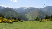 Auteur : Samuel L, Commentaire : La vallée de la Rotja vue depuis le sommet du col