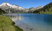 Montée : Lac d'Aumar depuis Saint Lary Soulan, Commentaire : Lac d'Aumar et pic de Néouvielle.