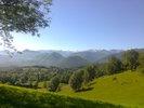 Montée : Col de Catchaudégué depuis D618 / D37, Commentaire : Oui, c'est l'Ariège qu'on voit ici ... je sais pourquoi je fais du vélo de route en montagne!