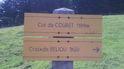 Montée : Col du Couret depuis Baudéan, Commentaire : 30 juillet 2014