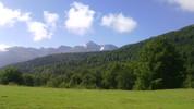 Auteur : Maurice R, Commentaire : 22 juillet 2014 au loin : le Pic du Midi...