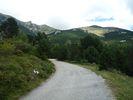 Montée : Cabane Pastorale des Forquets depuis Prats de Mollo, Commentaire : Vers 1500 m: on a passé le plus dur - vue sur la Collade des Roques Blanches.