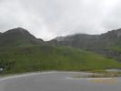 Montée : Col du Tourmalet depuis Luz Saint Sauveur, Commentaire : Épingle à cheveux où l'ancienne route (la voie Laurent Fignon) rejoint la nouvelle. C'est juste après Super Barèges.
