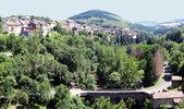 Author : Pierre V, Comment : Saint-Sernin / Rance: La montée commence à droite du pont.