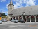 Montée : Col d'Aspin depuis Sainte Marie de Campan, Commentaire : Place centrale de Ste-Marie de Campan, départ du col. Il y a fontaine et toilettes bien utiles ;o)