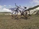 """Montée : Pic du Midi depuis Luz Saint Sauveur, Commentaire : Le """"héros"""" de ma journée! Il restait 23kms de descente jusqu'à Ste Marie de Campan pour finir. Le top!"""