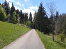 Montée : Col de Belle Roche depuis Nantua, Commentaire : Bientôt le sommet.