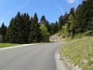Montée : Col de Cuvery depuis Bellegarde sur Valserine, Commentaire : Dans le final.