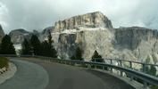 Montée : Passo Sella depuis Canazei