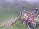 Montée : Port d'Aula depuis Couflens, Commentaire : Pause au bord de l'étang...