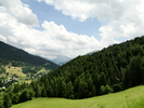 Montée : Col d'Allos depuis Colmars, Commentaire : La route du col sur la gauche