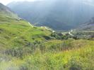 Auteur : Morgan T, Commentaire : Vu des derniers kilomètres du cormet de Roselend depuis Bourg-Saint-Maurice.