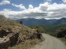 Montée : La Collada depuis Joncet le Sola, Commentaire : La montée se fait dos au Canigou la plupart du temps.