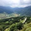 Montée : Col de la Pierre Saint Martin depuis Belasaisa, Commentaire : Plein les yeux sur la vallée...