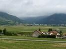 Montée : Col de Moissière depuis Forest Saint Julien, Commentaire : Ancelle, au terme d'un replat de deux kilomètres, avant le final de nouveau raide