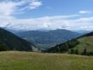 Montée : Col de Moissière depuis Forest Saint Julien, Commentaire : Au sommet, panorama vers le Gapençais