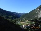 Montée : Col de Valberg depuis Guillaumes, Commentaire : Vue sur les gorges du Daluis dès les 1ers hectomètres