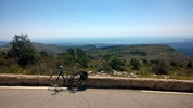Author : Robbo M, Comment : Beautiful views to Nice, and beyond to the East, and Antibes and the Esterel to the West.