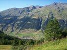Montée : Col du Mont Cenis depuis Lanslebourg, Commentaire : Après tous les virages en foret, on est content de cette petite vue!