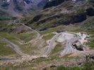 Montée : Col du Galibier depuis Col du Lautaret, Commentaire : Vue depuis le sommet.