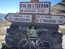 Montée : Col de l'Iseran depuis Lanslebourg, Commentaire : Sommet.