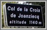 Montée : Col de la Croix de Joanziecq depuis Montbrison, Commentaire : Superbe ascension dans un joli paysage forézien.Montée longue mais pas trop dure.