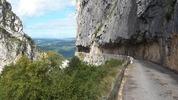 Montée : Col du Mont Noir depuis Cognin les gorges, Commentaire : Les gorges du Nan (à la descente)