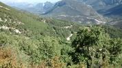 Montée : Col du Buis depuis Pont de St Pierre, Commentaire : Vu de la route montant de Brianconet vers le col