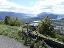 Montée : Col du Grand Colombier depuis Culoz, Commentaire : Vue depuis les lacets (photo prise en redescendant)