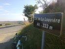 Montée : Col de la Louvière depuis Molandier, Commentaire : C'est mieux avec un panneau, les cols !