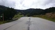 Montée : Serra de Mauri depuis Formiguères, Commentaire : Pied des pistes de ski, fin de route goudronnée.
