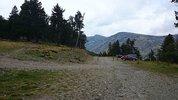 Montée : Serra de Mauri depuis Formiguères, Commentaire : On peut monter en voiture jusqu'à 2100 m d'altitude...
