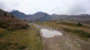 Montée : Serra de Mauri depuis Formiguères, Commentaire : Un peu après le sommet en continuant vers les Camporells