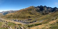 Auteur : Pierre V, Commentaire : A 2 km du sommet, vue sur le Pas de la Case.