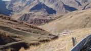 Montée : Col d'Allos depuis Colmars, Commentaire : Novembre 2014