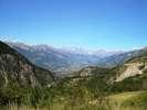 Auteur : Florent L, Commentaire : Vue prise au cours de la montée, peu avant d'entrer dans le 1er hameau de Vars.
